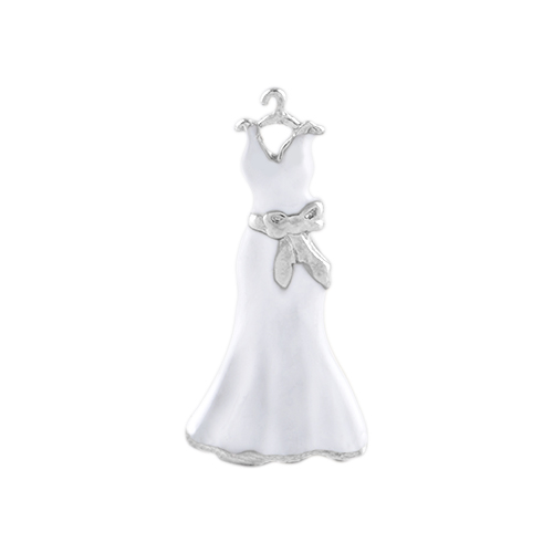 CH9111 Wedding Dress Charm
