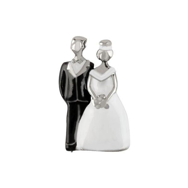 Bride Groom Cake Topper Charm SKU CH9116