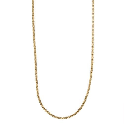 CN3002 24  26  Gold Cube Chain 1