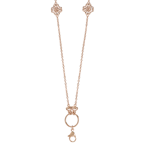 CN4011 Rose Gold Sentiments Convertible Chain V1 2