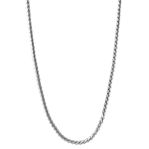 CN5034 30  Silver Lanyard Chain 1