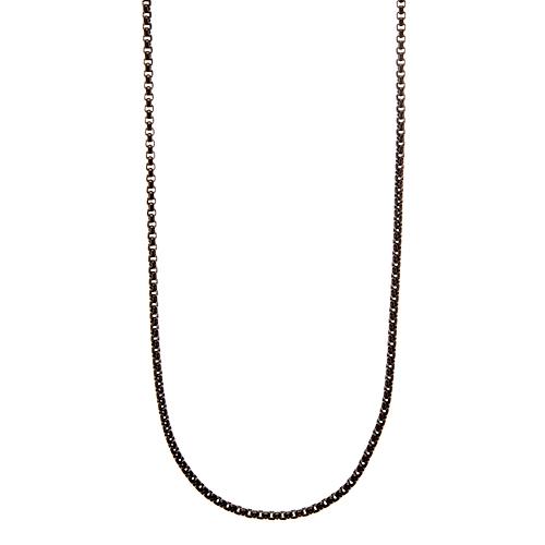 CN5043 36 38  Black Cube Chain 1