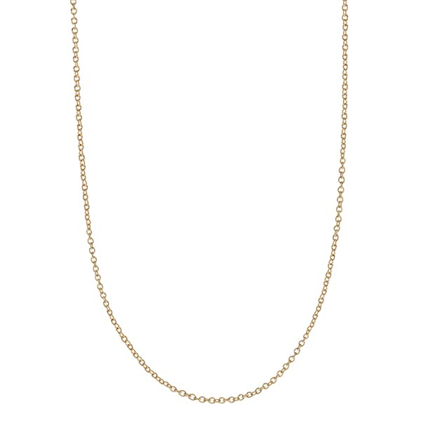 CN6059  Gold Dainty Cable Chain
