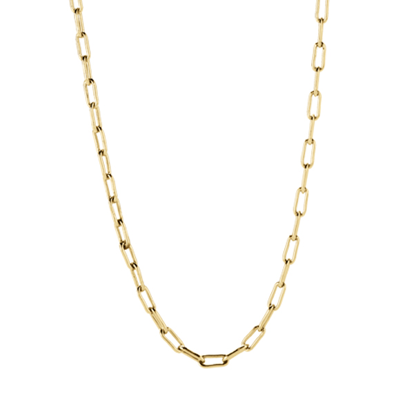 18 20 Gold Dainty Rectangle Chain SKU CN6072