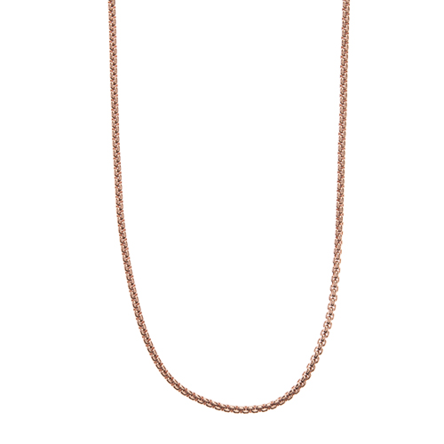 CN7044 36 38  Rose Gold Cube Chain 1