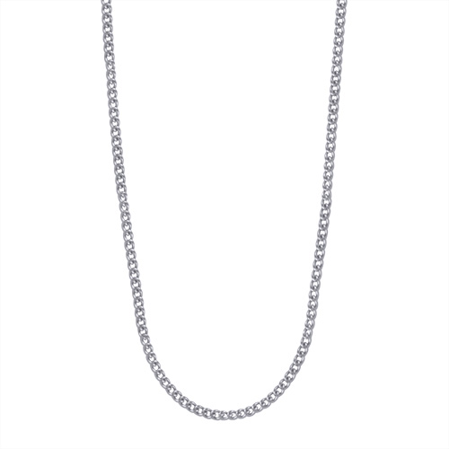 CR2002 24 26  Sterling Silver Chain