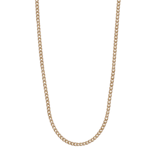 cr2003 24 26  Sterling Silver Chain in Gold