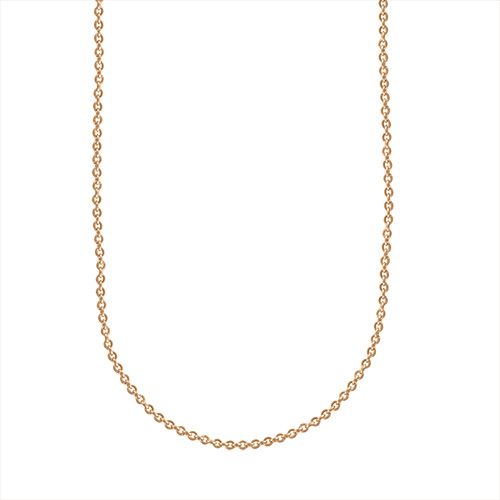 cr2005 16    18  Sterling Silver Chain in Gold