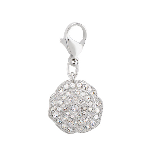 DG4068 Silver Pave Rose Dangle with Swarovski Crystals 1 as Smart Object 1 copy