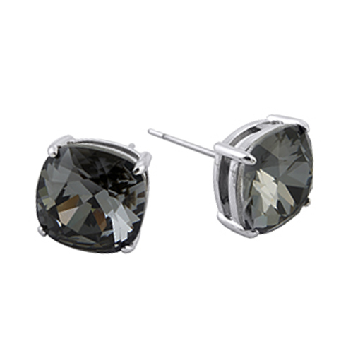 ER3015 The Clara Stud Earrings with Crystals by Swarovski