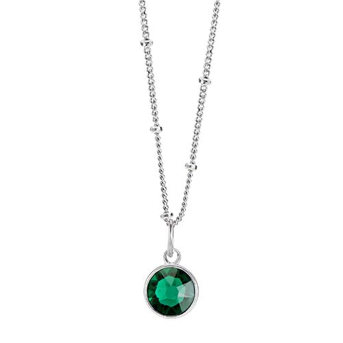 LB1046 May Swarovski Birthstone Silver CORE Gift Set