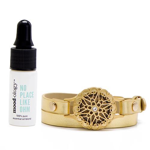 LB1749 no place like ohm gold bracelet gift set