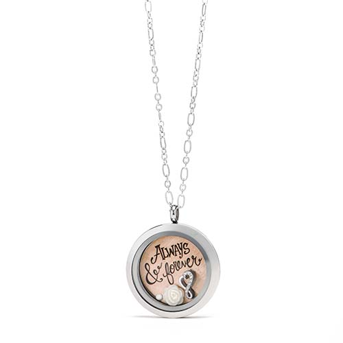 Gifting CEM Looks Anniversary Large Silver Locket V1