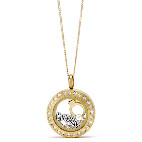 Gifting CEM Looks Wedding Mini Gold Locket V1