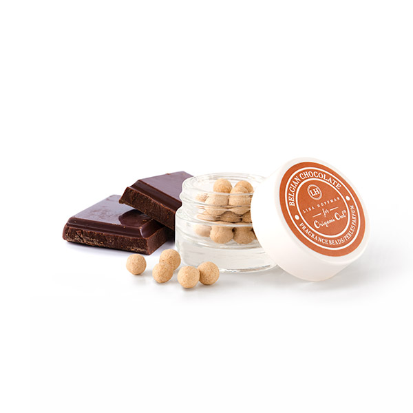 LHB001 Belgian Chocolate Fragrance Beads with Cholocate