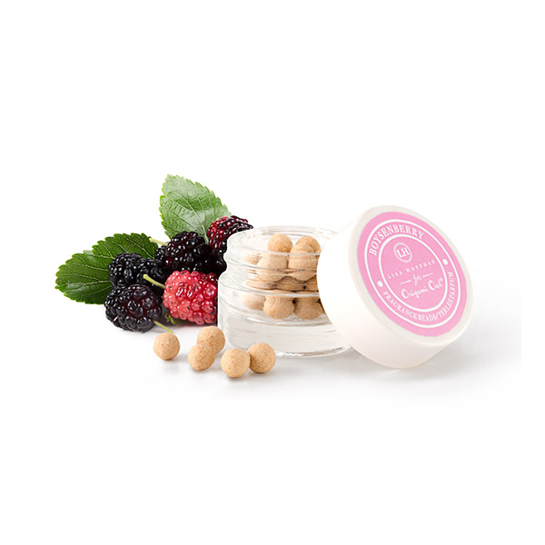 LHB002 Boysenberry Fragrance Beads with Berry