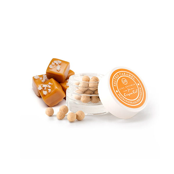 LHB005 Salted Caramel Fragrance Beads with Caramel