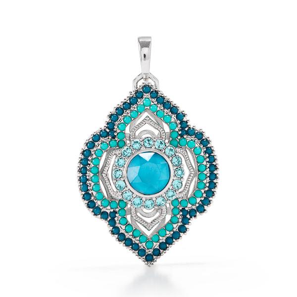 2018 Moroccan turquoiselocket SKU