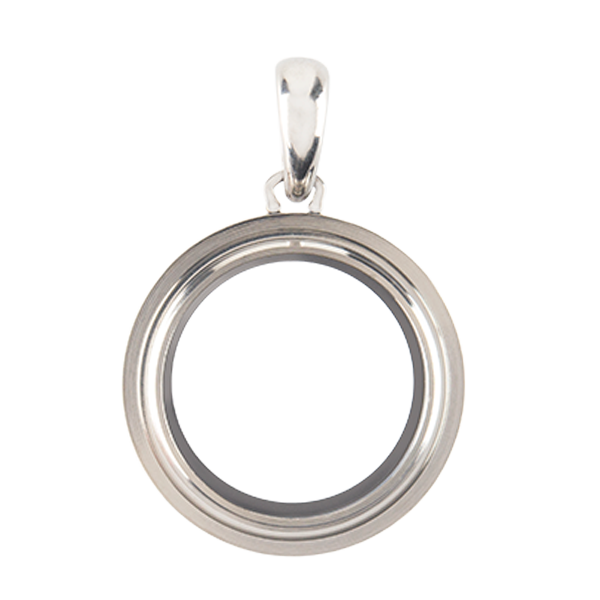 Petite Silver Twist Living Locket Base SKU LK2010