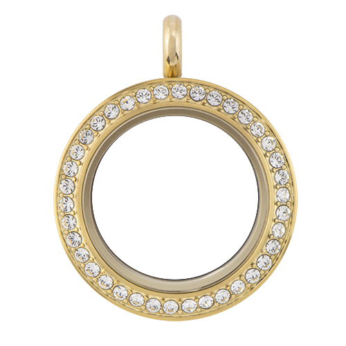 LK9011 Medium Gold Twist Living Locket ver1