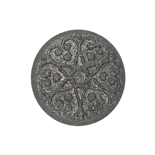 MD1006 Medium Black Moodology Filigree Mood Disc Charm