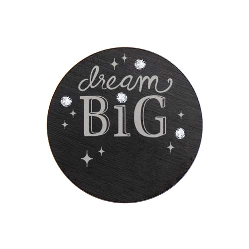 PB3004 Large Black Dream Big Crystal Plate with Swarovski Crystals V1 copy