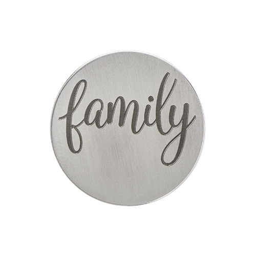 PS9311 Large Silver  Family  Plate