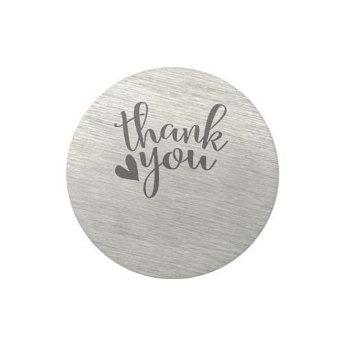 PS9313 Large Silver Thank You Plate copy