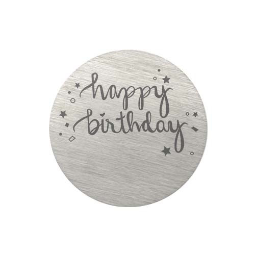 PS9314 Large Silver Happy Birthday Plate copy