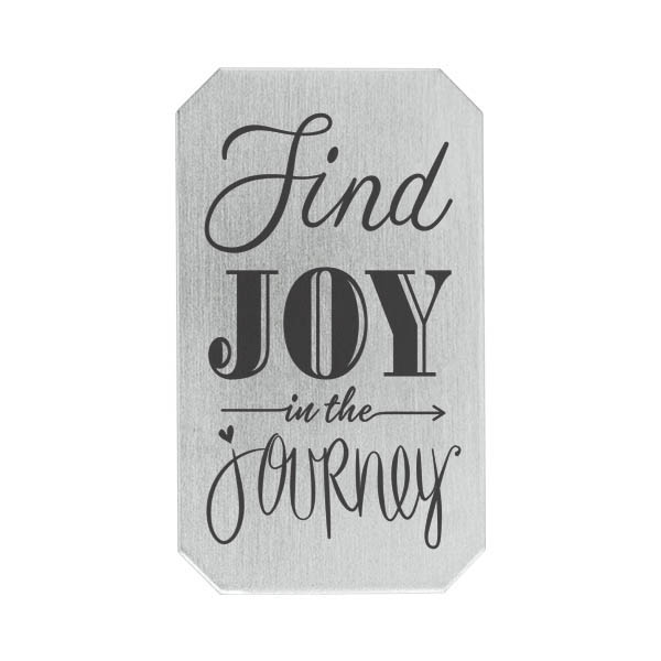 PS9324 Silver Heritage Find Joy in the Journey Plate