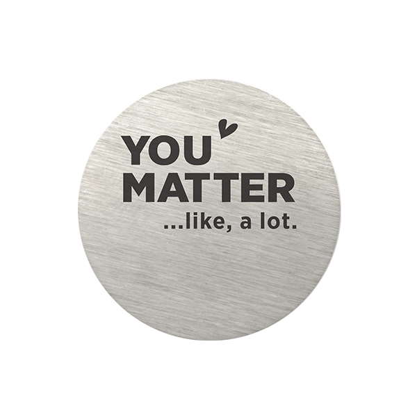 PS9340 You Matter Plate
