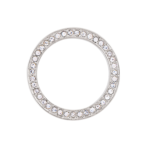 WF1002 Large Silver with Crystals Window Frame