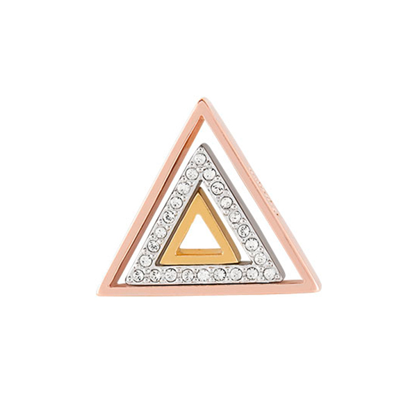 Nesting Triangles with Swarovski Crystals SKU WN5002